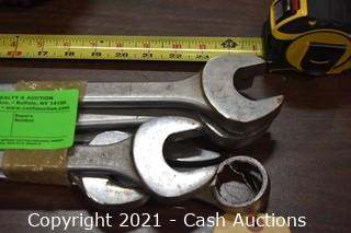 (6) Large Combination Wrenches
