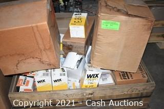 Large Lot of Air/Oil Filters