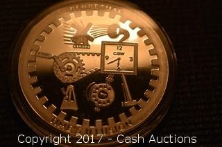 "CSW T.I.M.E. Series #3 ""Perpetual"" 1 Troy oz .999 Silver Proof"