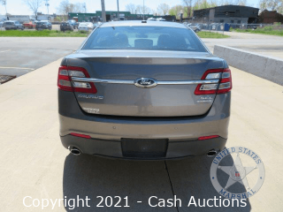 2013 Ford Taurus Seized by The U.S. Marshals Service