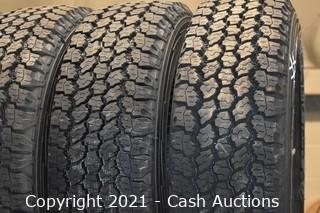 Lot of (10) Goodyear LT245/75R16 Tires