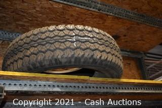 Lot of (22) Various Sized Tires