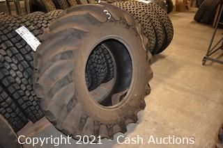 Pair of Goodyear 16.9-24 Tractor Tires