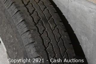 Set of (3) 8 R 19.5 Tires (Used)