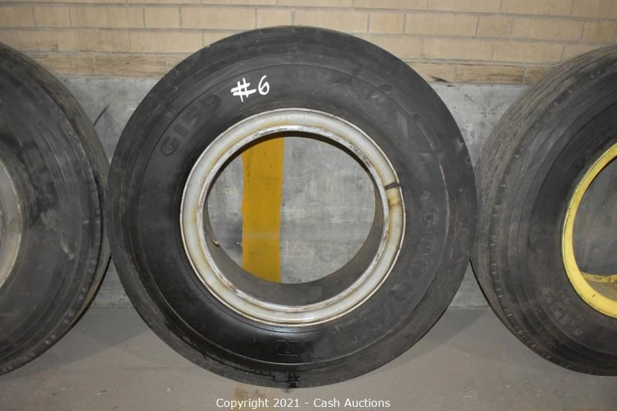 Surplus Tires from The Erie County Library