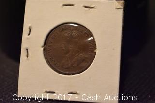 1923 Canadian Penny